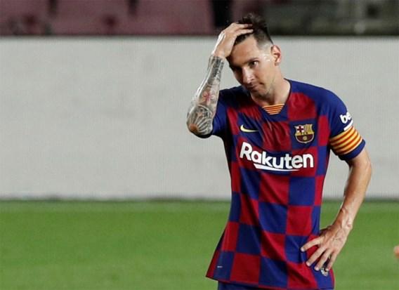 Lionel Messi scoort mijlpaal maar Barcelona ziet titelkansen slinken door kwelduivel Yannick Carrasco