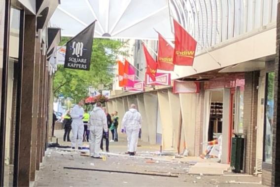 Schade aan winkelpanden na nachtelijke plofkraak in Venlo