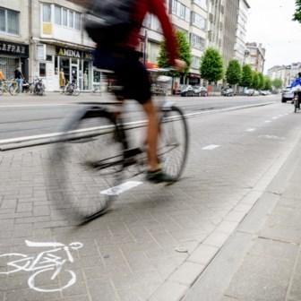 Wie betaalt GAS-boete na schilderen fietspad?