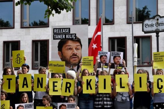Oud-voorzitter Amnesty Turkije veroordeeld: 'Schande'