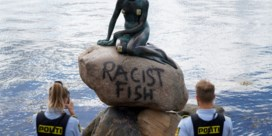 'Racistische vis': Kleine Zeemeermin in Kopenhagen besmeurd