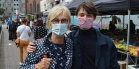 Met mondmasker naar markt: 'En de supermarkten?'
