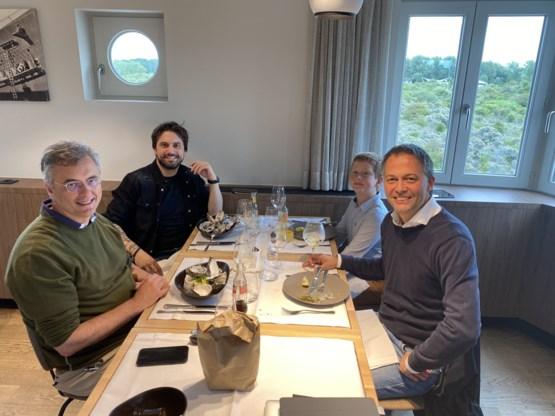 'Drie koningen' ontmoeten Rousseau aan zee: 'Constructief gewerkt'