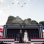 Trump haalt uit naar links in 4 juli-speech bij Mount Rushmore