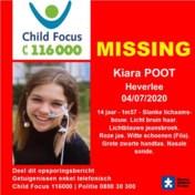 14-jarig nichtje van Theo Francken vermist