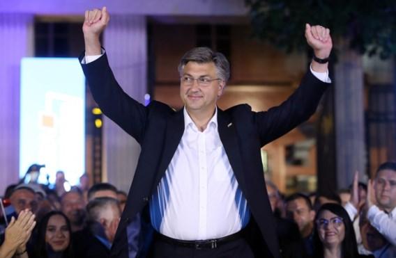 Conservatieven eisen verkiezingszege op in Kroatië