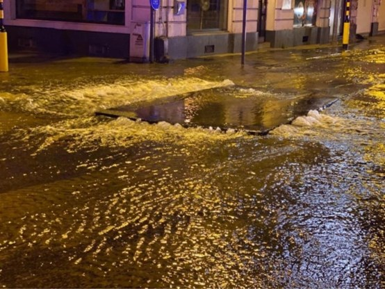 Groot waterlek in Mechelen zorgt voor problemen met drinkwater