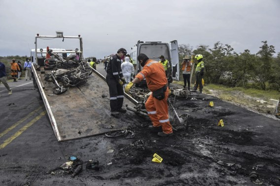 Doden en gewonden na ontploffing tankwagen in Colombia