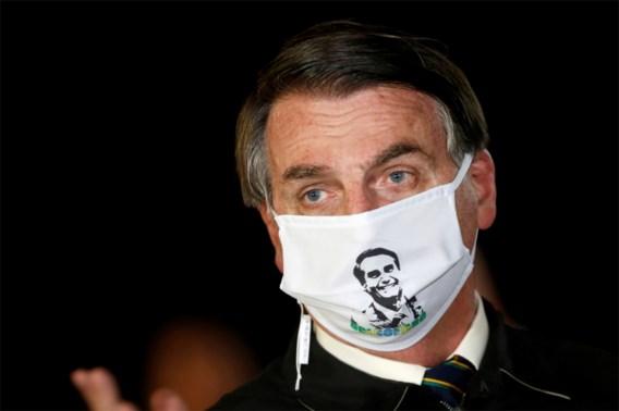Bolsonaro test positief op nieuwe coronavirus