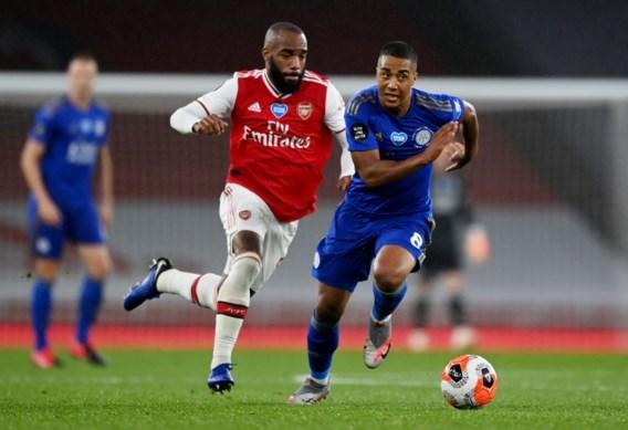 Youri Tielemans en Dennis Praet rapen met Leicester puntje in topper bij Arsenal