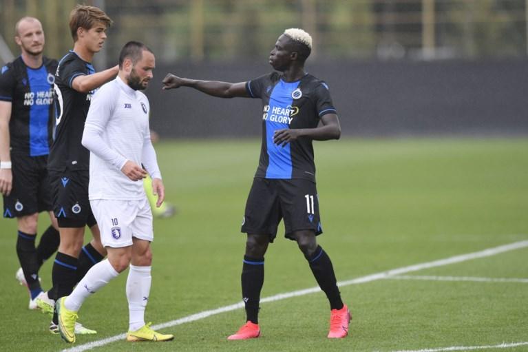 Club Brugge kan oefenmatch tegen Beerschot niet winnen door flater van Vormer en zoekend spitsenduo