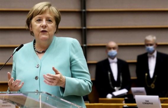 Merkel dringt aan op 'Europese eenheid en solidariteit' als antwoord op corona