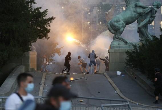 Opnieuw rellen in Servische hoofdstad Belgrado