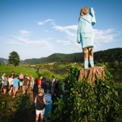 Standbeeld van first lady Melania Trump in brand gestoken in Slovenië