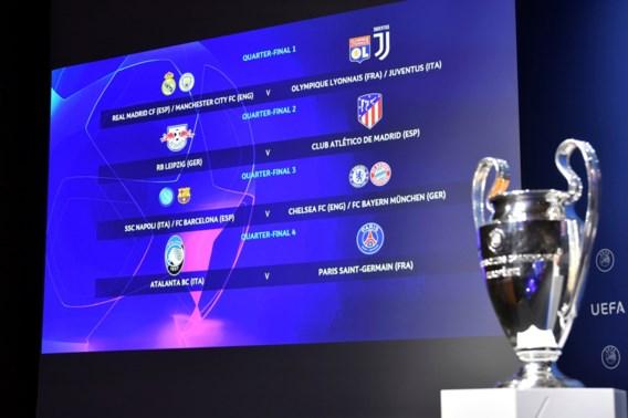 Final 8 in Champions League levert twee potentiële krakers op in kwartfinales, Timothy Castagne en Atalanta treffen PSG