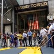 Burgemeester New York schildert 'Black Lives Matter' voor Trump Tower