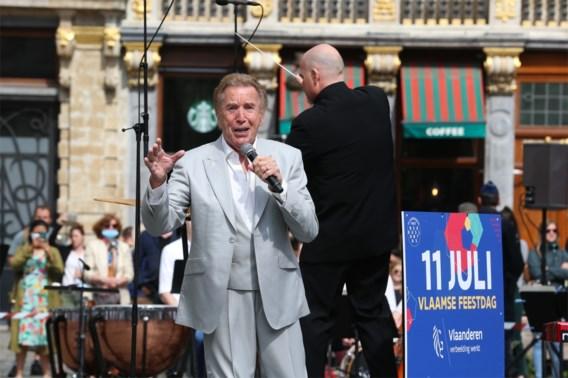 Will Tura verrast met concert op Brusselse Grote Markt