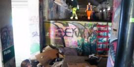 Dakloze gezinnen uit Gentse fly-over gehaald