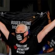 Trump zet gevangenisstraf van vertrouweling Roger Stone om