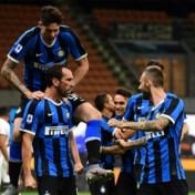 Inter Milaan zonder Romelu Lukaku opnieuw naar tweede plaats Serie A