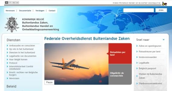 Websites van federale overheidsdiensten lagen een tijdje plat
