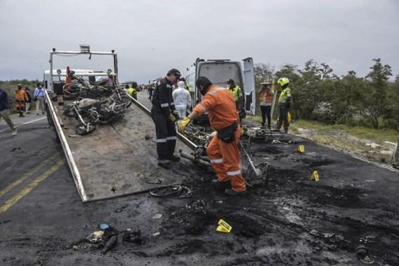 Dodentol na ontploffing van tankwagen in Colombia loopt op tot 36
