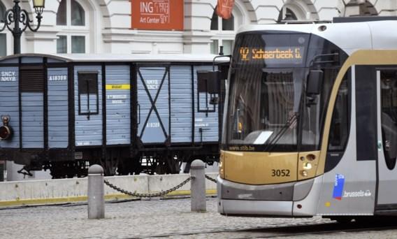 Tram ontspoort in Brussel maandagavond, geen gewonden