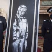 Gestolen Bataclan-kunstwerk van Banksy keert terug naar Frankrijk
