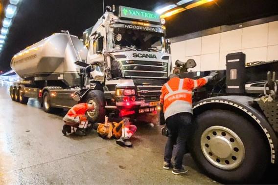 Ook avondspits verstoord door ongeval in Kennedytunnel