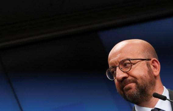 Charles Michel: 'Dit is het moment voor een deal over herstel'
