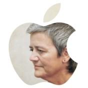 Apple wint cruciale veldslag in belastingoorlog met Europa en Vestager