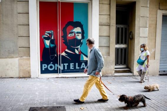 Spaanse regio's Catalonië en Aragon krijgen code oranje