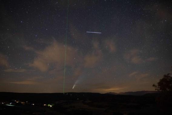 Komeet Neowise extra helder dit weekend