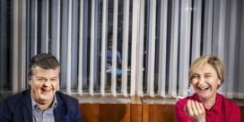 Zijn Somers en Crevits voor de pers gevlucht door het raam?
