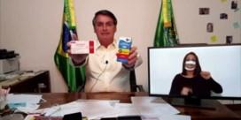 Bolsonaro blijft controversieel medicijn promoten als remedie tegen covid-19