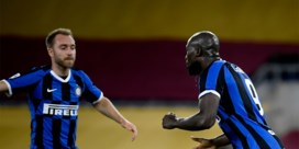 Wederoptredende Romelu Lukaku bezorgt Inter een punt in topper bij AS Roma