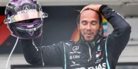 Lewis Hamilton vervelend sterk