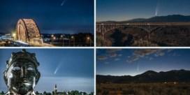 Passage komeet Neowise levert knappe beelden op