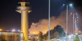 Aanzienlijke schade na brand op luchthaven Luik, vliegverkeer hervat