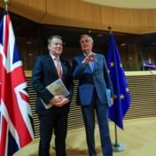 Barnier acht handelsakkoord in dit stadium 'onwaarschijnlijk'