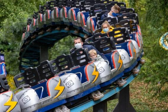 Belgische pretparken breiden mondmaskerplicht uit