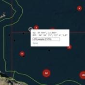 140 mensen in nood in Maltese wateren