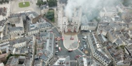 Vrijwilliger parochie is verdachte van brand in kathedraal Nantes