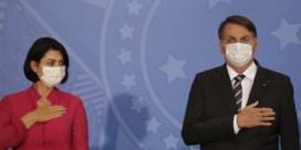 Nu ook echtgenote Bolsonaro besmet met coronavirus