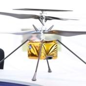 Nasa stuurt voor het eerst helikopter naar Mars