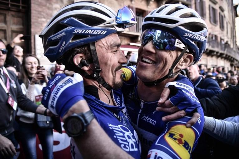 Julian Alaphilippe en Zdenek Stybar zijn speerpunten van Deceuninck - Quick-Step in Strade Bianche