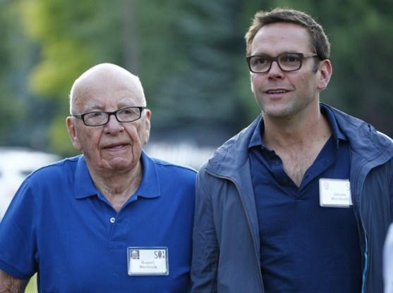 Barst in imposante Murdoch-imperium: jongste zoon James verlaat News Corp