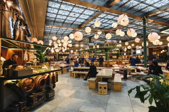 Brusselse foodmarkt Wolf sluit tijdelijk de deuren