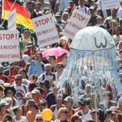 45 agenten gewond na protest tegen coronamaatregelen in Berlijn