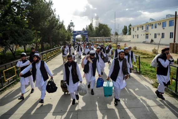 Afghanistan laat nog eens 300 talibangevangenen vrij
